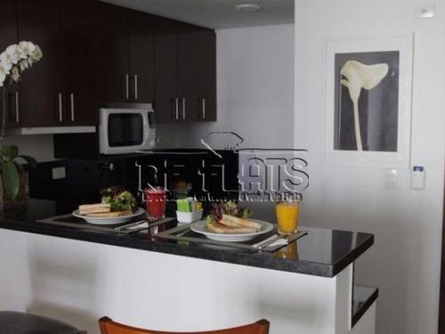 flat george v itaim para locação  e venda