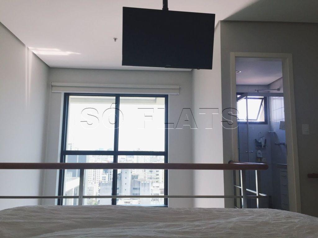 flat international duplex moema para morar ou investir confira ! - sf24740