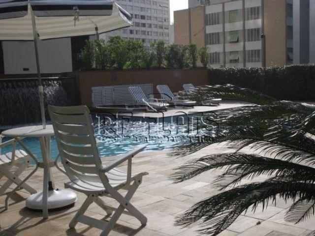 flat international plaza para venda no jardins unidade no pool