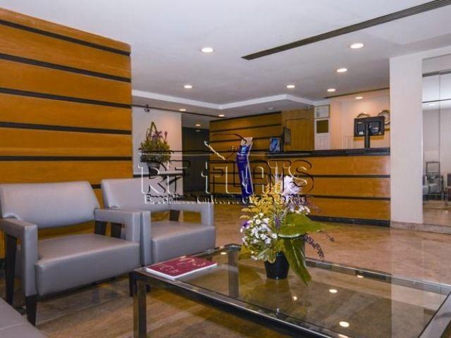 flat la residence para locação no itaim bibi