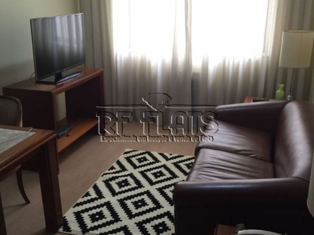 flat la residence para locação no itaim bibi - ref1119