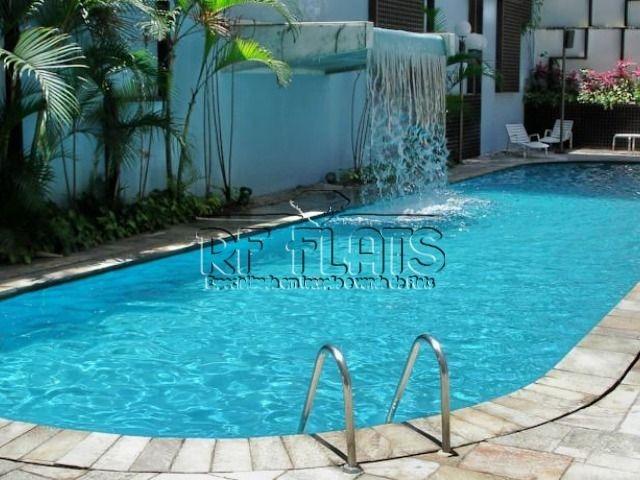 flat la residence para locação no jardins