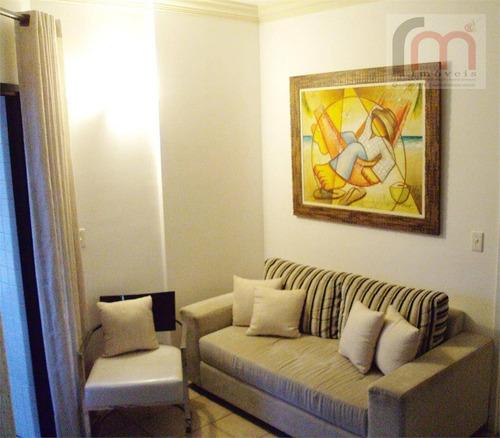 flat mercure residencial para locação, boqueirão, santos. - codigo: fl0002 - fl0002
