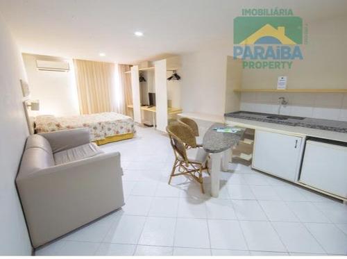 flat mobiliado à venda beiramar - praia do cabo branco - joão pessoa - pb - fl0060