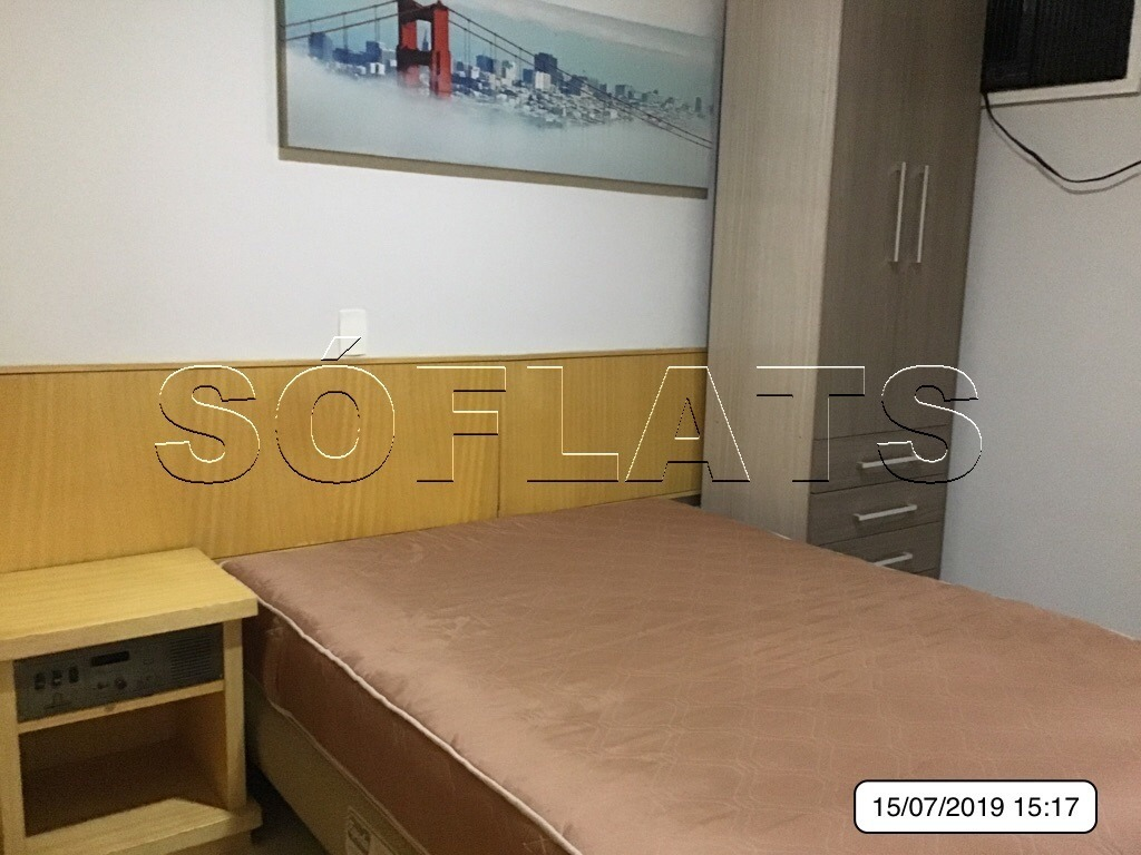 flat morumbi business  - mobiliado