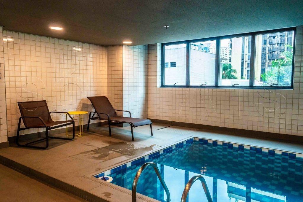 flat na av. ibirapuera, prox ao shopping, no pool para investimento - sf30360