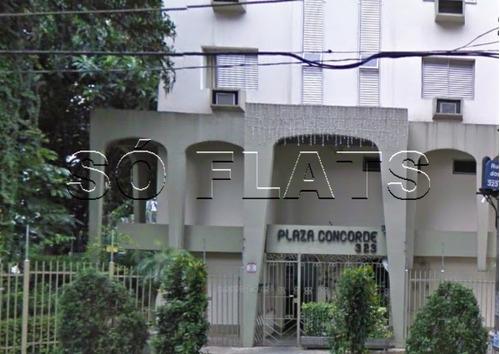 flat na bela vista conheça o plaza concord. - sf25165