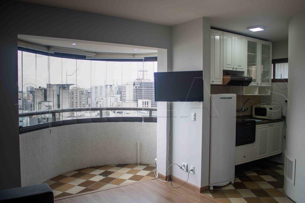 flat na bela vista, próximo a av 9 de julho, paulista e faculdade fgv  - sf27964