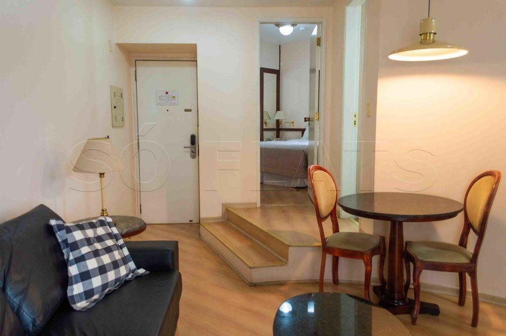flat na região da bela vista, próximo a av. paulista, hospedagem sem burocracia e entrada imediata - sf8164