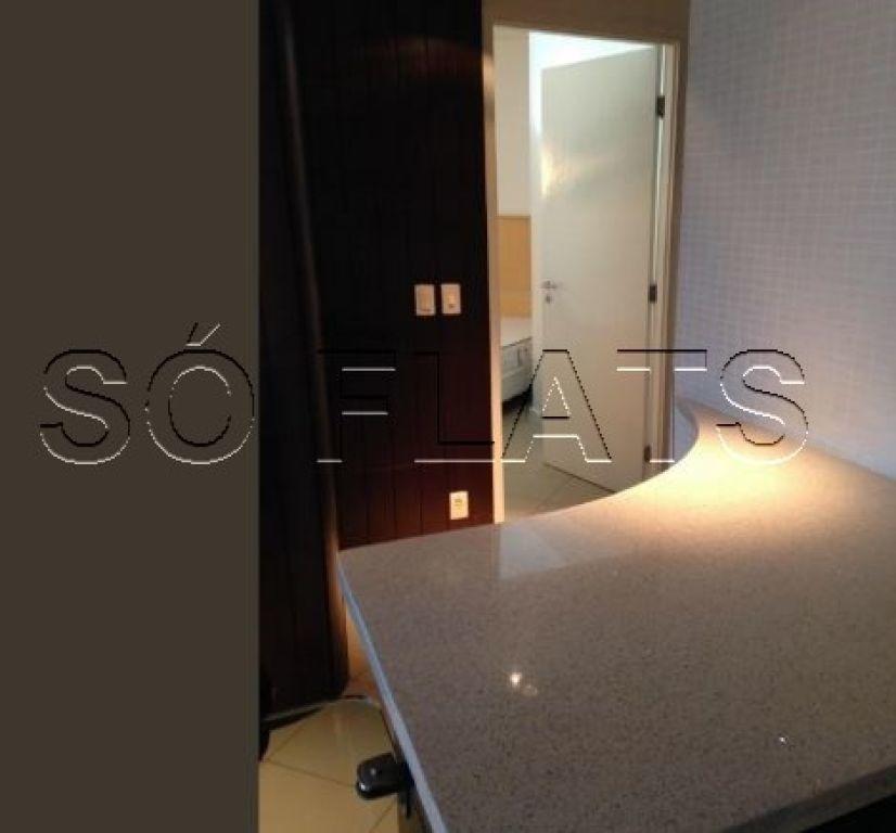 flat na região do itaim com 02 dorms para investimento - sf30868