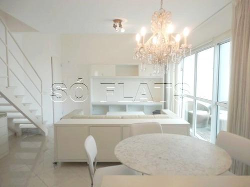 flat na vila nova conceição próx ao bairro de moema  - sf4809