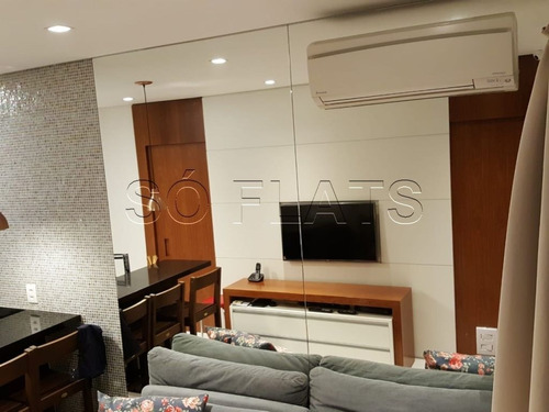 flat na vila nova conceição  - sf90