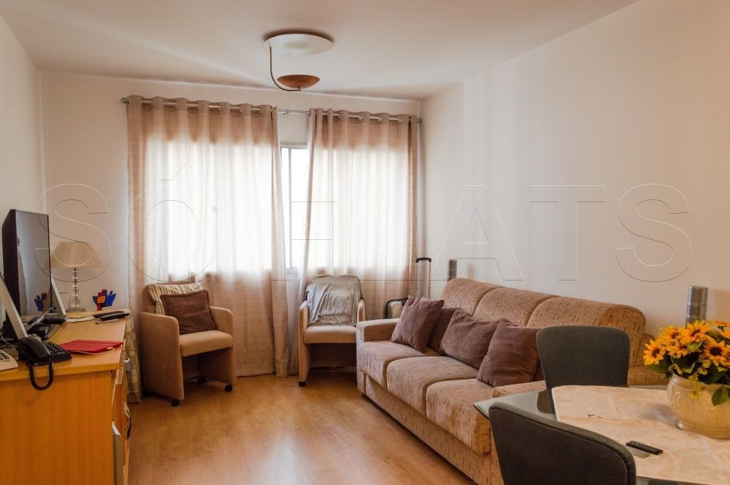 flat no itaim bibi 1 dorm 42m² - sf2576