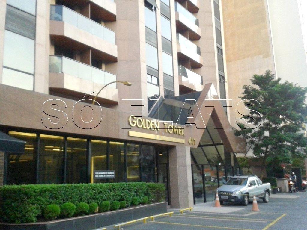 flat no itaim bibi a venda no edifício golden tower - sf511