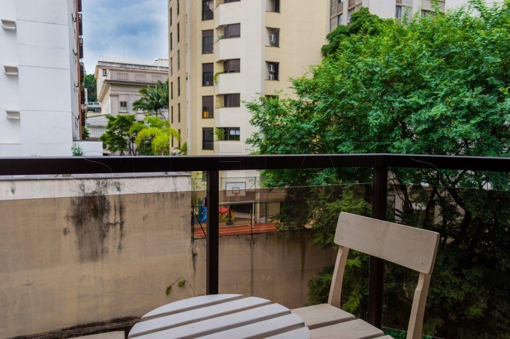 flat no jardins 1 dorm 45m² - sf479