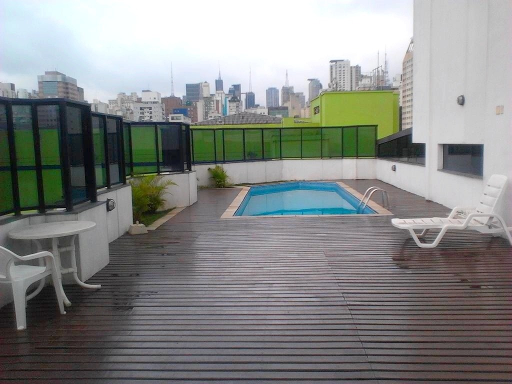 flat nos jardins fora do pool - sf1180