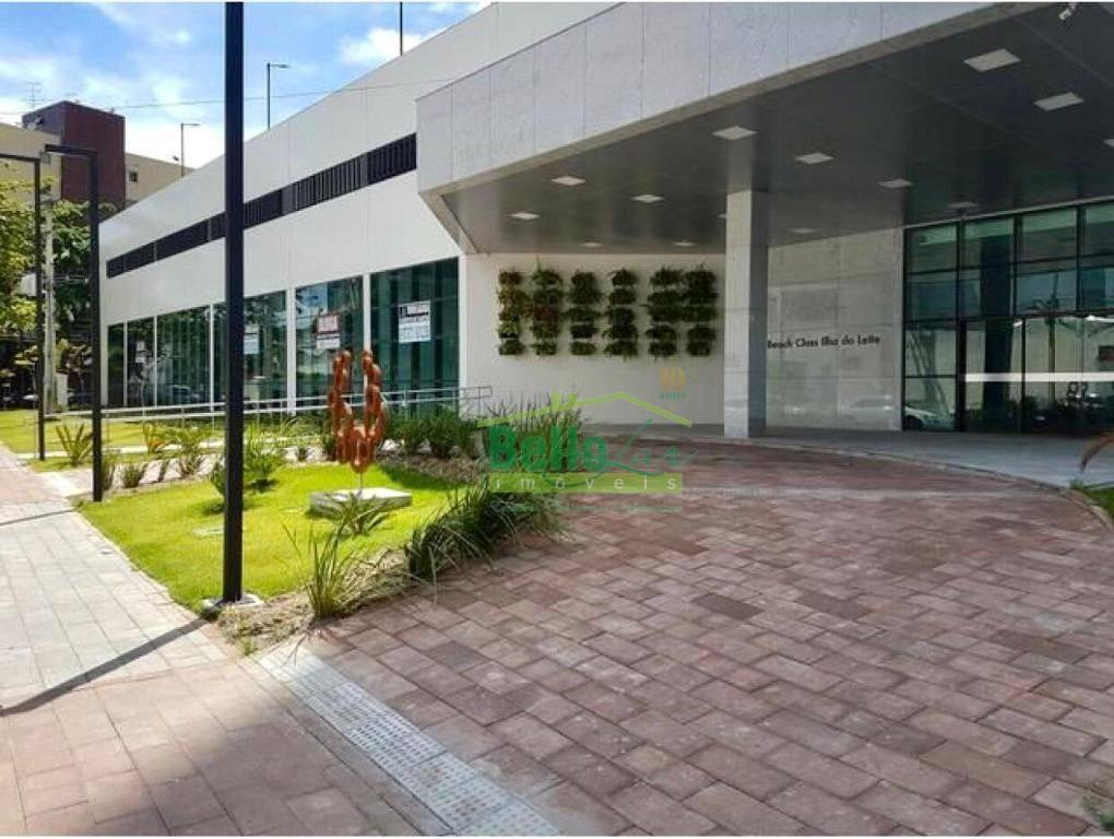 flat para alugar, 25 m² por r$ 1.800,00/mês - ilha do leite - recife/pe - fl0190