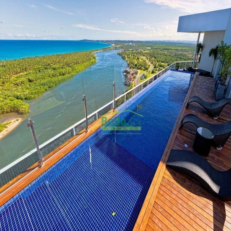 flat para alugar, 42 m² por r$ 2.200,00/mês - barra de jangada - jaboatão dos guararapes/pe - fl0038