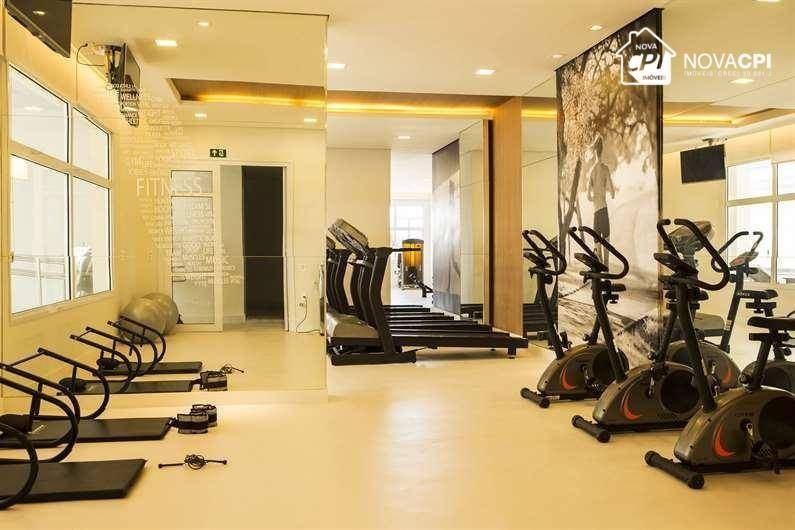 flat para alugar, 47 m² por r$ 2.599,00/mês - boqueirão - santos/sp - fl0034