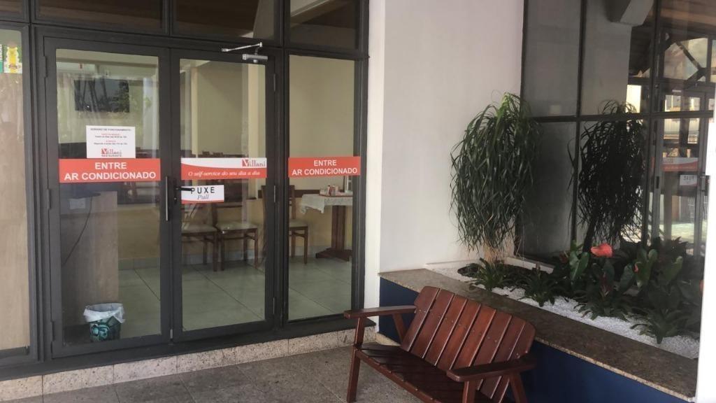 flat para alugar, 48 m² por r$ 2.500,00/mês - centro - campinas/sp - fl0006
