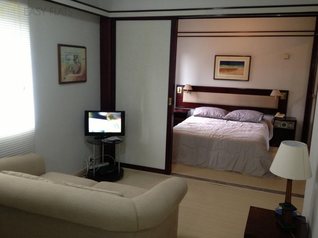 flat para aluguel, 1 dormitórios, cidade monções - são paulo - 1723