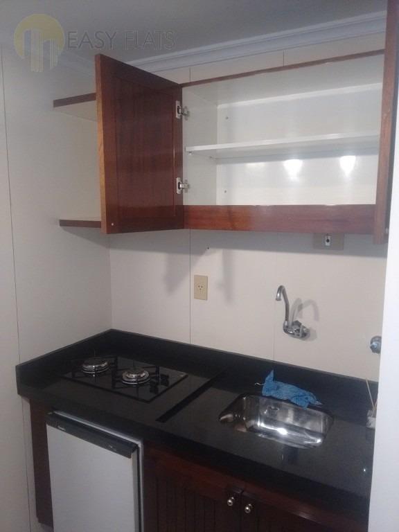 flat para aluguel, 1 dormitórios, higienópolis - são paulo - 1320