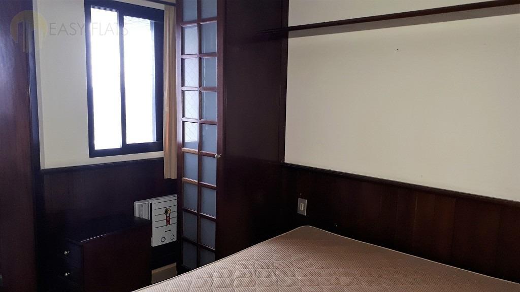 flat para aluguel, 1 dormitórios, higienópolis - são paulo - 1581
