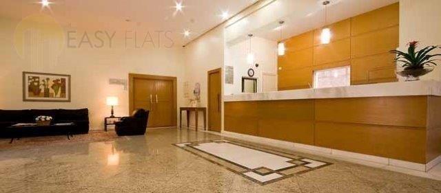 flat para aluguel, 1 dormitórios, perdizes - são paulo - 1258