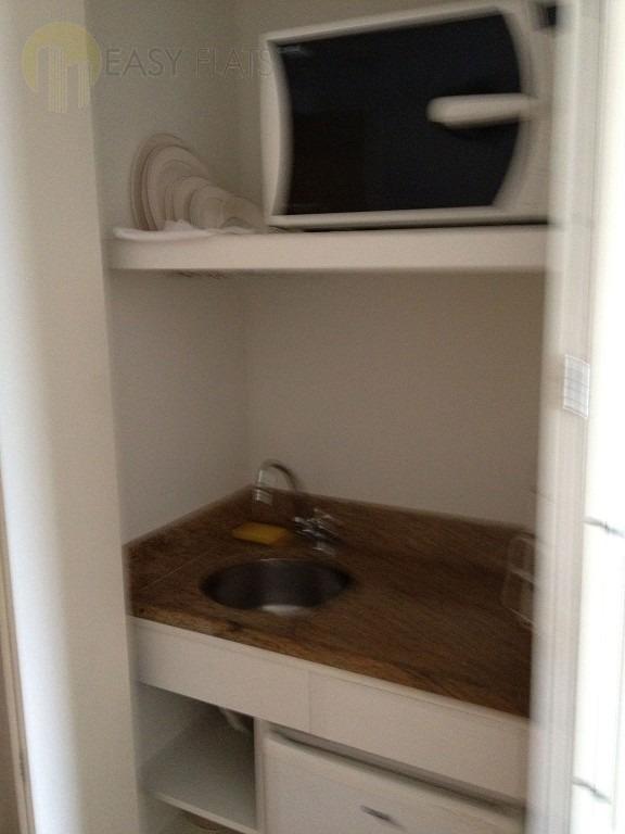 flat para aluguel, 1 dormitórios, perdizes - são paulo - 203