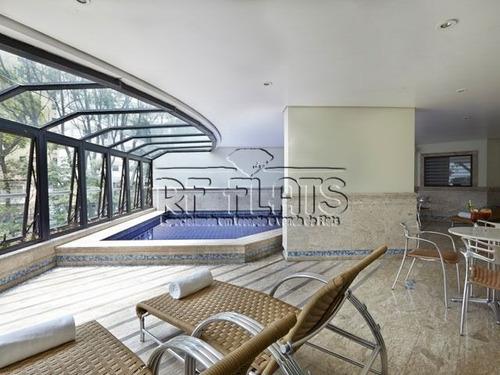 flat paradise garden para locação no paraíso - fla3483