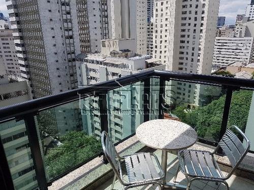 flat paradise garden para locação no paraíso - fla4635