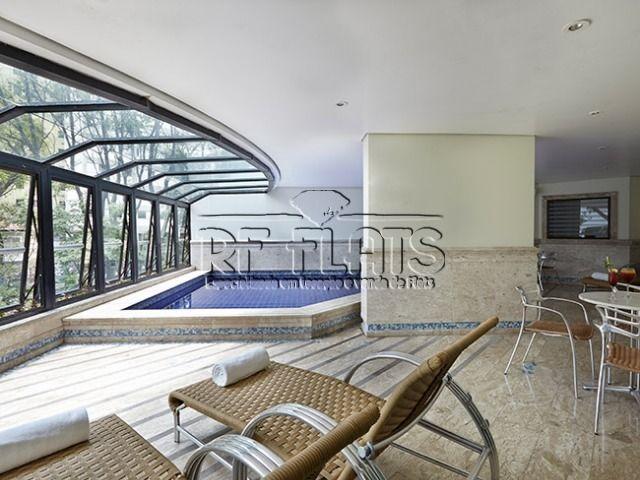 flat paradise garden para locação no paraíso - ref338