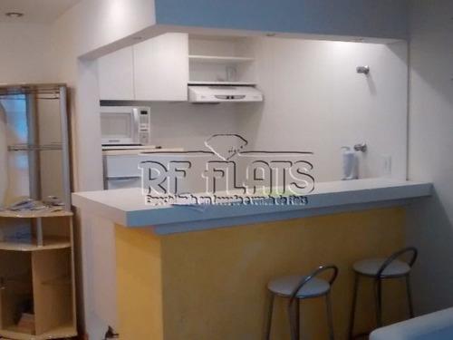 flat paulistania para locação no jardins - ref3564