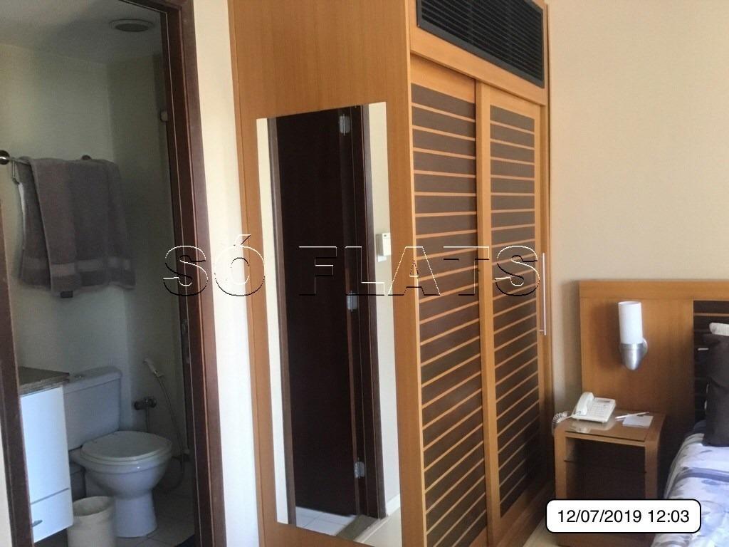 flat próx av paulista 1 vaga  (11) 3059-0846