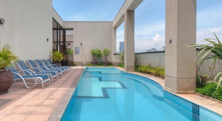 flat próximo a faria lima ao shoppong iguatemi no pool 36m² - sf24385