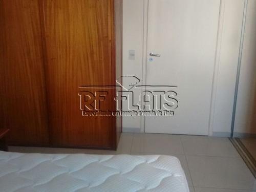flat q.i. para locação em moema - ref2498