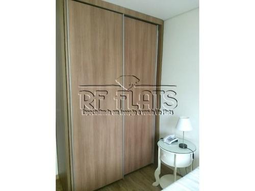 flat q.i. para locação em moema - ref412
