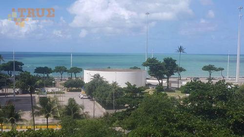 flat residencial para locação, boa viagem, recife. - fl0065