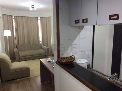 flat residencial para locação, centro, campinas. - fl0006