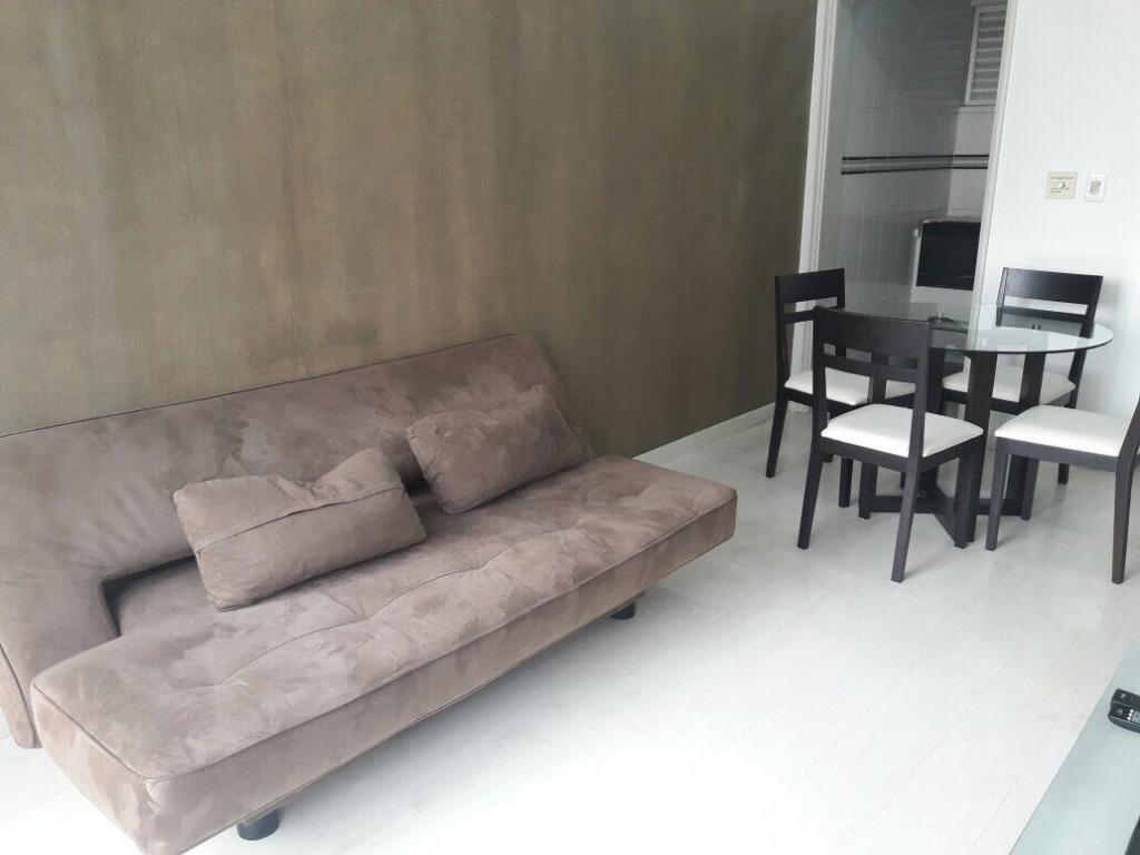 flat residencial para locação, centro, campinas. - fl0010