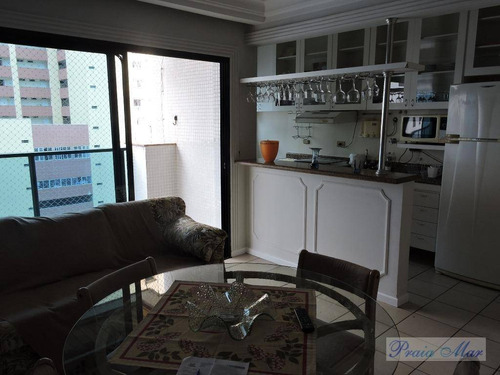 flat residencial para locação, centro, guarujá. - fl0113