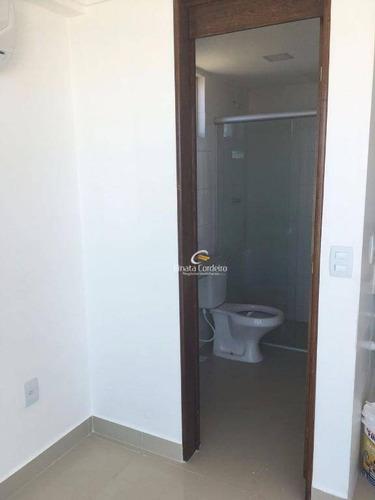 flat residencial para locação, intermares, cabedelo. - fl0045