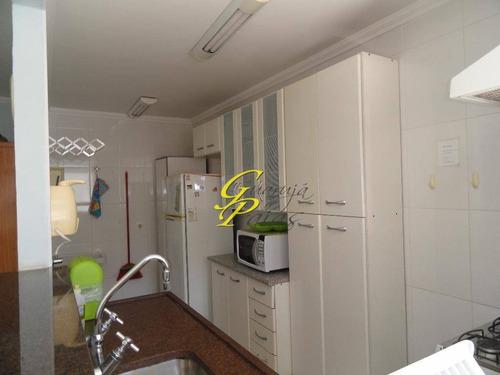 flat residencial para locação, pitangueiras, guarujá. - codigo: fl0125 - fl0125