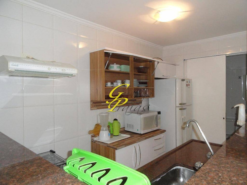 flat residencial para locação, pitangueiras, guarujá - fl0124. - fl0124