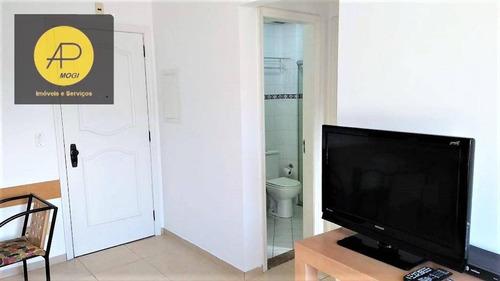 flat residencial para locação, vila oliveira, mogi das cruzes. - fl0001