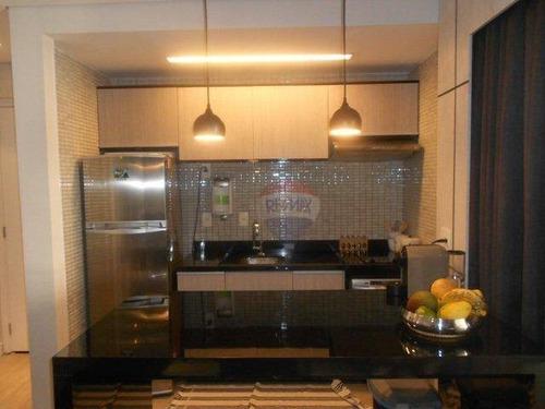 flat residencial para venda e locação, brooklin paulista, são paulo - fl0004. - fl0004