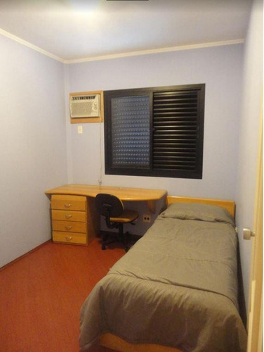 flat residencial para venda e locação, brooklin, são paulo. - fl0653