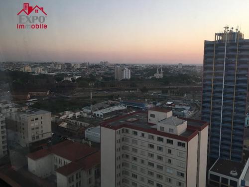 flat  residencial para venda e locação, centro, campinas. - fl0002