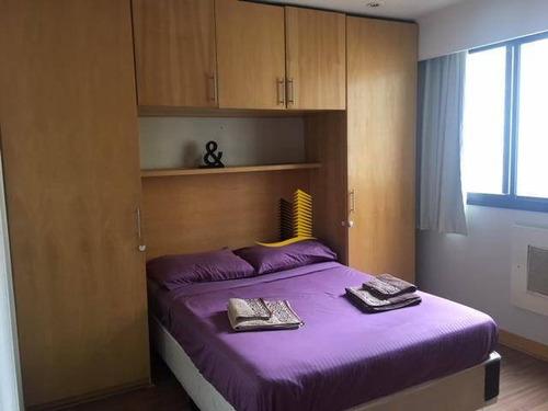 flat residencial para venda e locação, vila uberabinha, são paulo. - fl0074