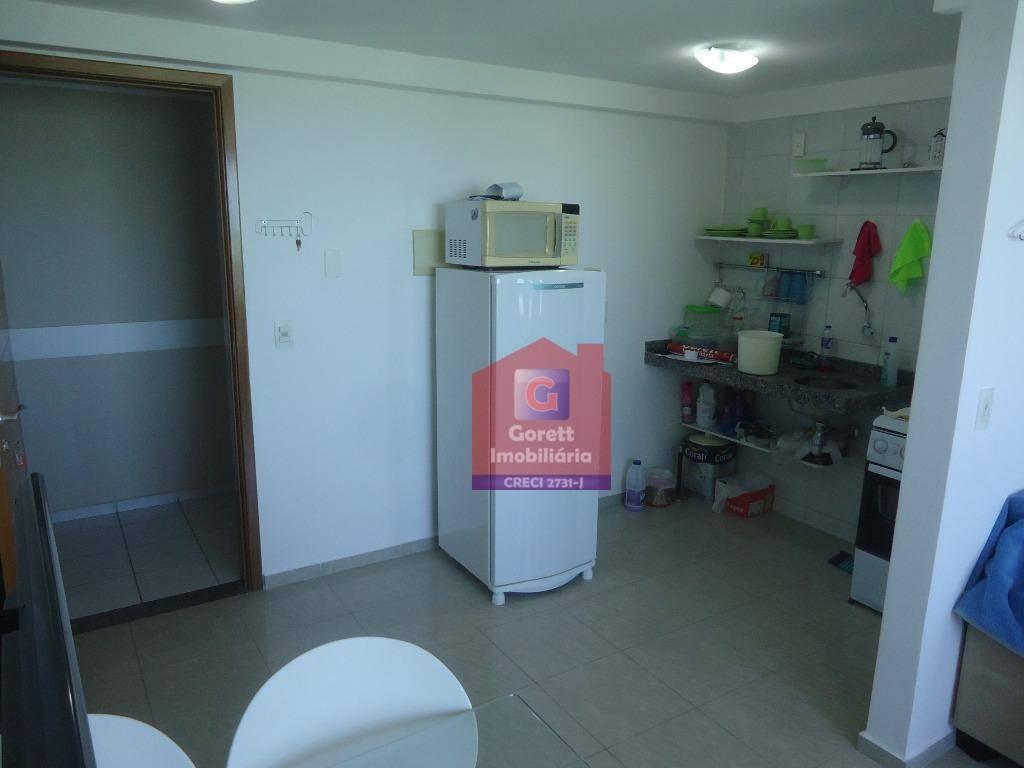 flat residencial à venda, areia preta, natal. v0698 - fl0002